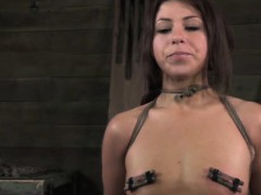Nipple Pumped Bitch In Humiliation Treatment