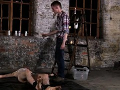 Gay Porn Guys Gay Hairy Pubic Hair Semen Chained To The Ware