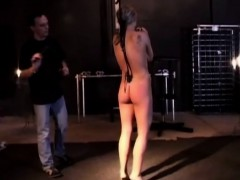 Blonde Bound And Harsh Treated In Bdsm Basement