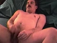 Amateur Mature Man Ed Beats Off And Cums