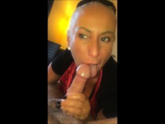 Blonde Milf Eating A Lengthy Cock For Dinner