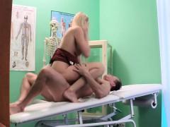 Bonde Milf Nurse Fucked By Doctor