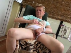 Teen Shares Dildo With Granny
