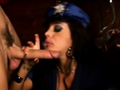 Partying Femdom Milf Jerking And Cocksucking