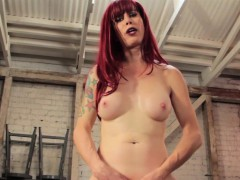 Trans Star Nadia Vixen Drilled By Machine