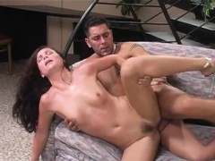 Hairy Pussy Gets Penetrated By A Rod