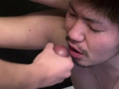 Japanese Teen Facialized
