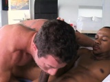 Monster cock slammed into this gay anal opening