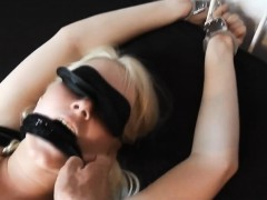 Tied German Woman Employed By Bf Up