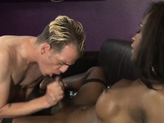 Ebony Tranny Bangs Ass