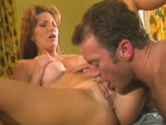 kinky milf gets fingered and blows before filling her vagina with dick