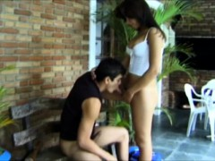 Sexy Tranny Juliana Gives A Lustful Boy The Anal Fucking He Deserves