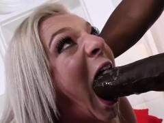 Cheerleader Tiffany Watson Loves Black Cock