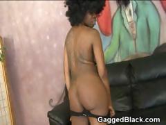 black ghetto bitch interracial double penetration