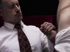 Uniform Bishop Blows Cock