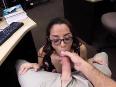 Monica santhiago blowjob College Student Banged in my pawn s