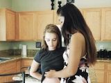 Karlie Brooks and Luzbel in Breaking Up And Diving In