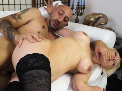 CastingAllaItaliana – Blonde newbie's anal during a casting
