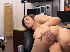 Busty Tattooed Lady Drilled By Pawn Guy At The Pawnshop
