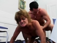 Wild Cougar Is A Dick Sucker Three Elke