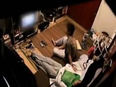 Cute Japanese Wife Is Filmed On Hidden Cam Undressing Her H