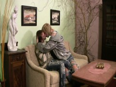 College twink barebacking after bj with euro