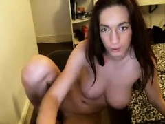 Busty Girl Shows Her Body To The Webcam