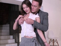 Teen Sofy Torn Gets Groped By Horny Tutor