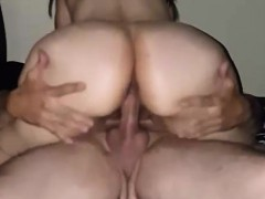 Cuckold's Wife Screwing The Bareback Lover