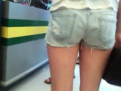 Really Tight Ass In Pants Hidden Cam
