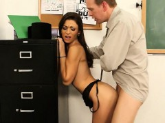 sexy-brunette-babe-fucked-hard-on-desk-vanessa-sixxx