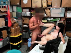 Shoplifter Babe Alex Harper Fucking Desk Big Dick