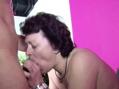 German Young Boy Caught Step mom Masturbate And Get A Fuck