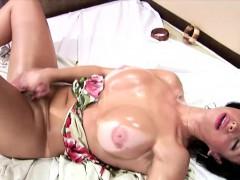 Shedoll Finger Fucks Her Butt During Hardcore Masturbation
