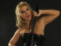 Adorable Blonde Ginger Jones Masturbating Her Pussy