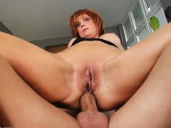 nina stein milf woman bangs at milf thing