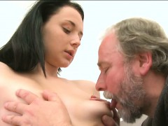 Captivating Beauty Pleasures Her Horny Old Slaver Zealously