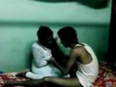 desi indian young college lovers poking
