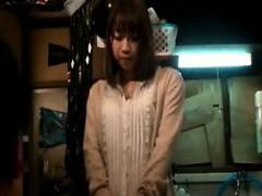 Big Breasted Japanese Hottie In White Panties Gets Tied Up