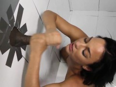 Babe Sucks At Gloryhole