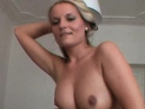 Sexy czech chick does strip and lapdances