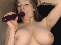 large-busty-babe-gadgets-on-camera-together-with-her-vagina