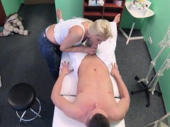 Kathy Anderson In Frisky Milf Masseuse Fucks Doctor