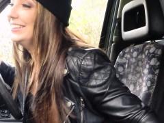 Big Black Cock Into Blonde Cab Driver