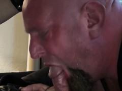 Cocksucked Bear Ass Banging Chubby Bottom