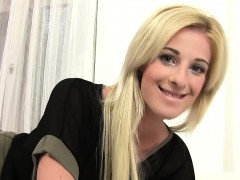 Blonde Teenager And Her Dreams