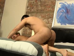 Cameron's Ass Is Quickly Revealed And Filled With His Boner