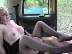 Big Tits Passenger Banged And Footjobs Pervert Client