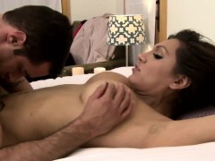Trans Goddess Cumdrops While Drilled By Hunk