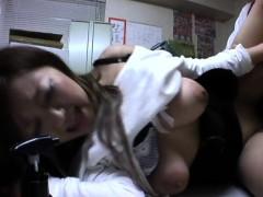 Uncensored Sweet Japanese Schoolgirl Hardcore Fucking Fun